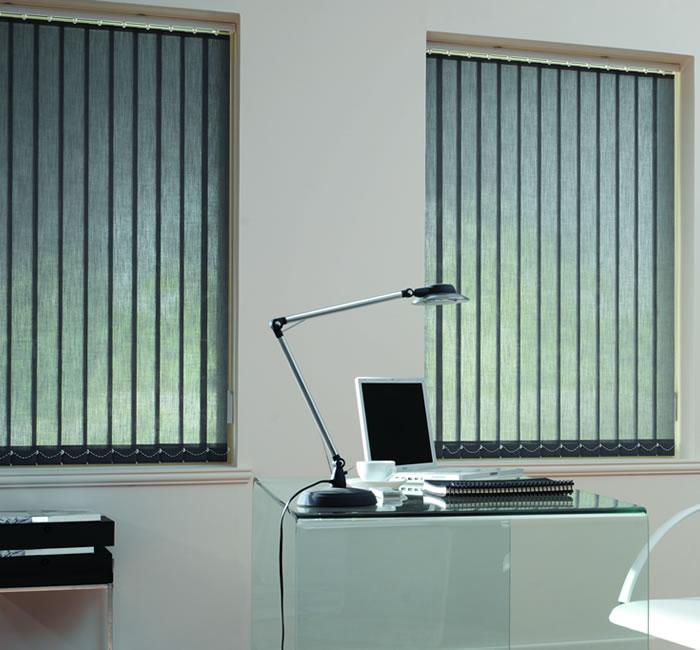 office vertical blind