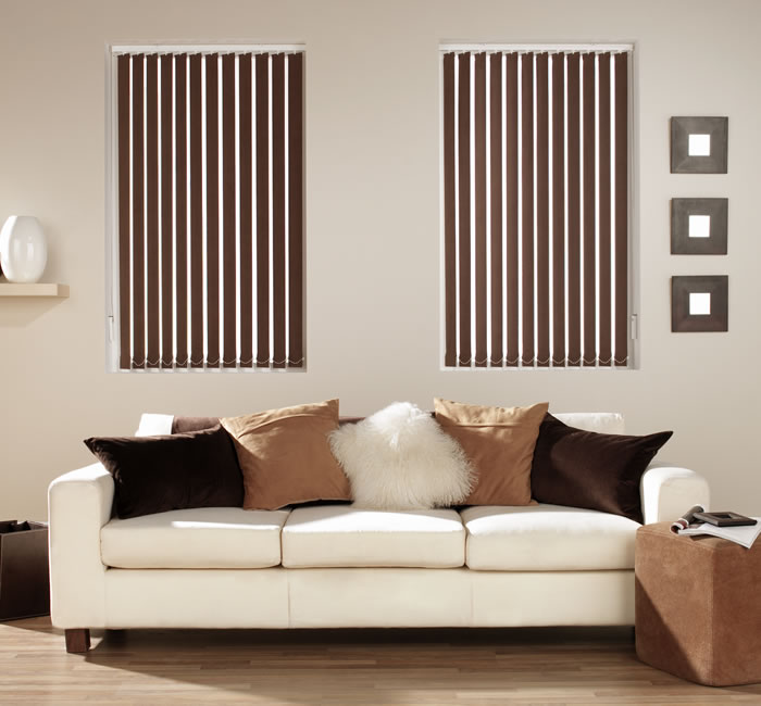 open vertical blinds