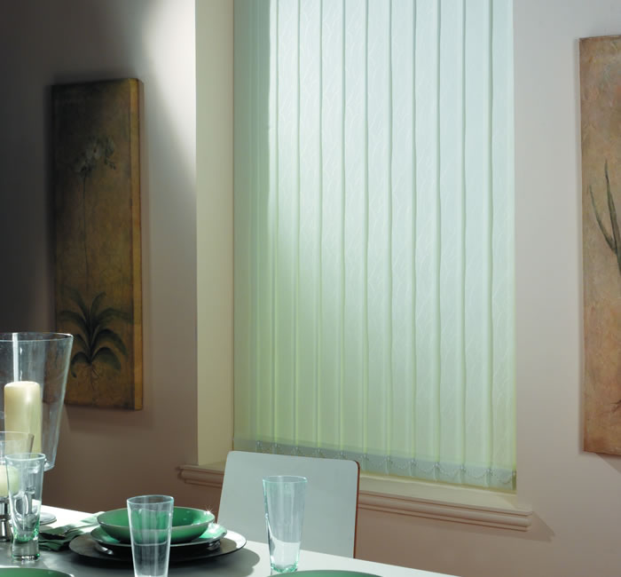 vertical blinds interior